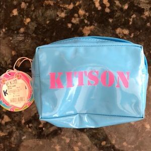 KITSON Make Up Coin Purse Zip Pouch NWT